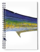 Bull Dolphin Spiral Notebook