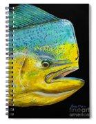 Bull Head Off0033 Spiral Notebook