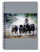 Bull Herd Spiral Notebook