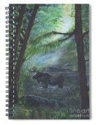 Bull Moose Pond Spiral Notebook