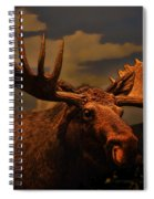 Bull Moose Spiral Notebook