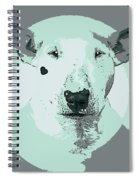 Bull Terrier Graphic 3 Spiral Notebook