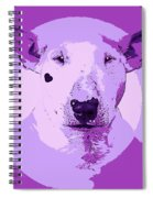 Bull Terrier Graphic 5 Spiral Notebook