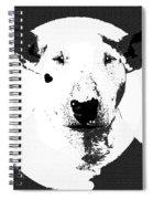 Bull Terrier Graphic 6 Spiral Notebook