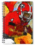 Bulldog Back Spiral Notebook