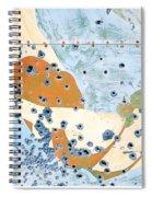 Bullet Ridden Tin Sign Chicos Hot Springs Spiral Notebook