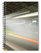 Bullet Train Spiral Notebook