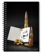 Bullets For You Spiral Notebook