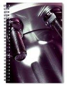 Bults Blue Spiral Notebook