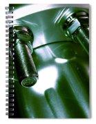 Bults Green Spiral Notebook