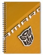 Bumble Bee Logo-7938 Spiral Notebook