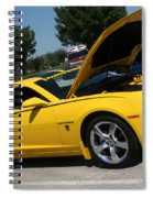 Bumble Bee Side View 7904 Spiral Notebook
