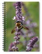 Bumbling Sage Spiral Notebook
