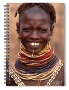 Bumi Woman Ethiopia Spiral Notebook