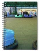 Bumper Cars At Monte Igueldo Amusement Spiral Notebook