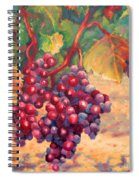 Bunch Of Grapes Spiral Notebook