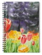 Bunch Of Tulips I Spiral Notebook