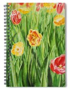 Bunch Of Tulips II Spiral Notebook