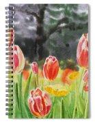 Bunch Of Tulips IIi Spiral Notebook