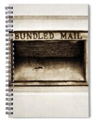 Bundled Mail Spiral Notebook