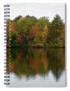 Bunganut Lake Foliage 4 Spiral Notebook