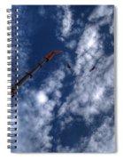 Bungee Jumper Hdr Spiral Notebook