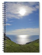 Bunglass Donegal Ireland - Seascape Spiral Notebook