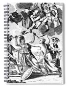 Bunker Hill: Cartoon, 1775 Spiral Notebook