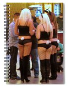 Bunny Butts Spiral Notebook