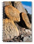 Buns On The Beach Spiral Notebook