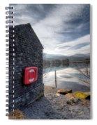 Buoy At Lake Spiral Notebook