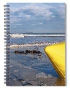Buoy At Low Tide Spiral Notebook