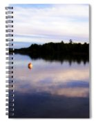 Buoy On The Torch Bayou Spiral Notebook