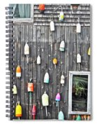 Buoy Wall Spiral Notebook