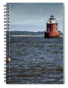 Buoy What A Lighthouse Spiral Notebook