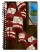 Buoys With A View      Spiral Notebook