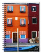 Burano Colors Spiral Notebook