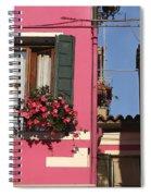 Burano Homes Spiral Notebook