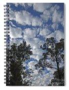Burden Sky Spiral Notebook