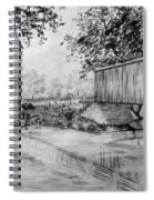 Burfordsville Bridge And Bollinger Mill Spiral Notebook