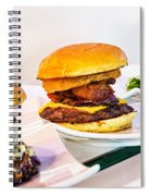 Burger Time Spiral Notebook