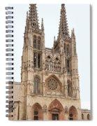 Burgos Cathedral Spain Spiral Notebook