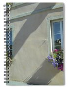 Flower Baskets Spiral Notebook