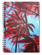 Burgundy Beauty Spiral Notebook
