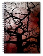 Reaching For The Moon Spiral Notebook