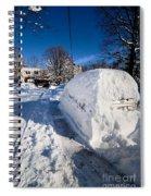 Buried In Snow Spiral Notebook