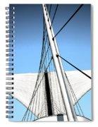 Burke Brise Soleil  2 Spiral Notebook