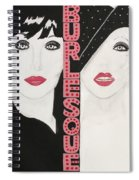 Burlesque Spiral Notebook