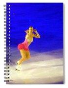 Burlesque Spiral Notebook