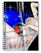 Burlesque Queen Dita Spiral Notebook
